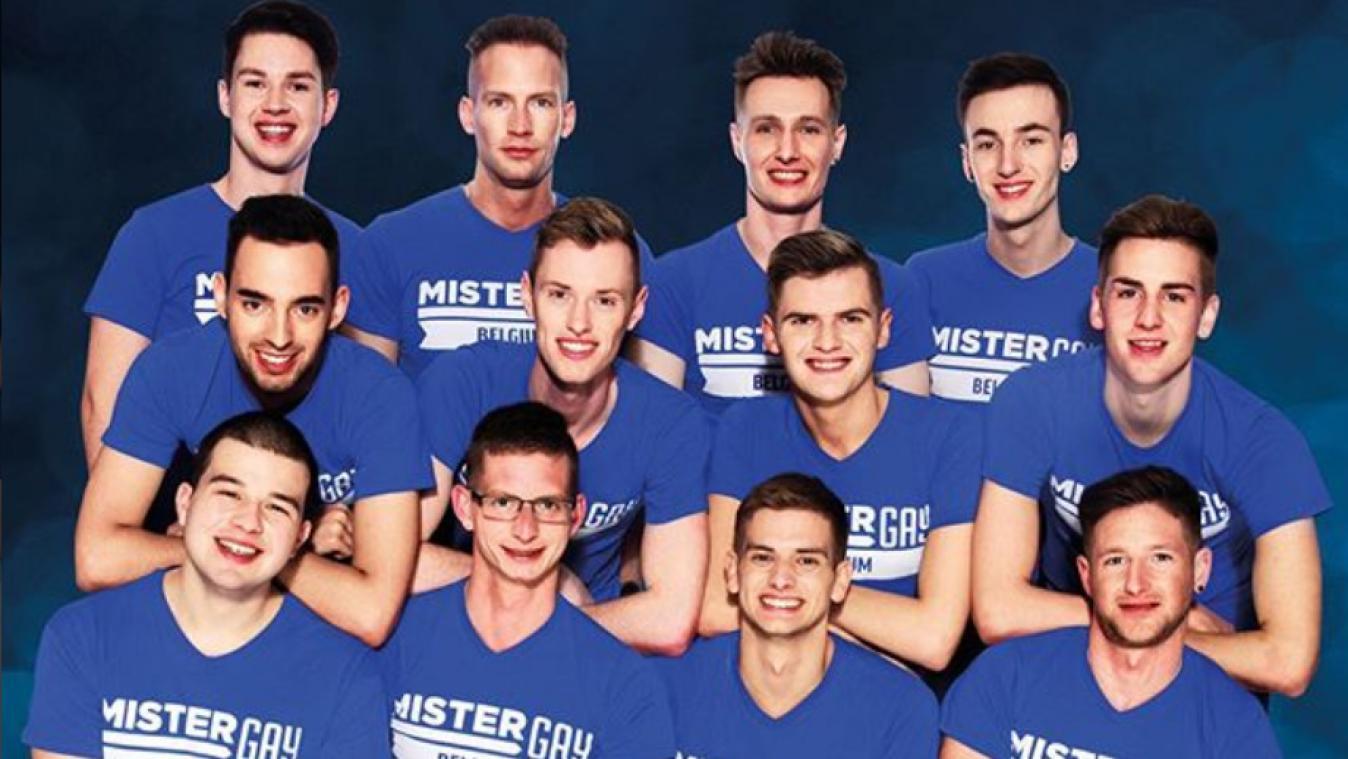"Zwölf Männer kämpfen um den Titel ""Mister Gay Belgium"""