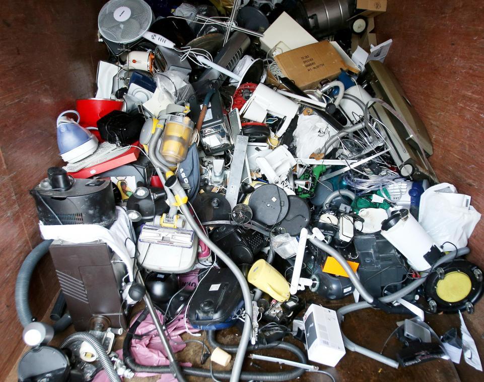 Sammelstelle Für Elektroschrott