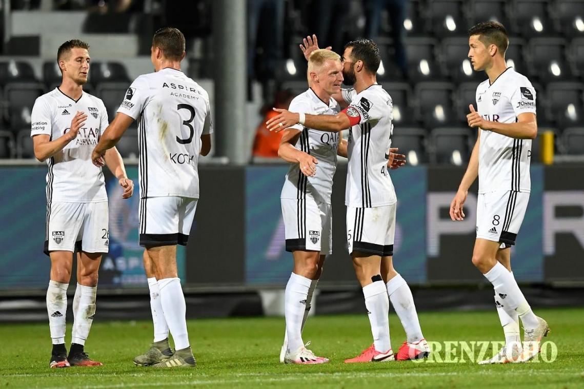 Fans und Sieg: AS Eupen - AA Gent - GrenzEcho