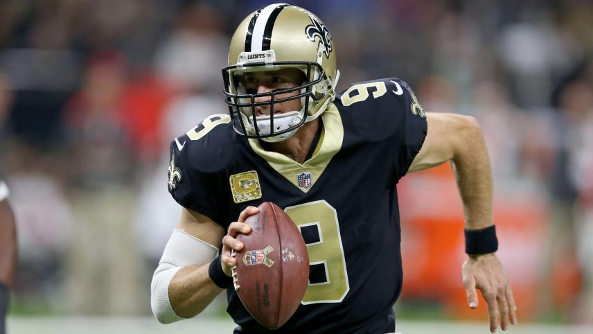 <p>Drew Brees in Aktion</p>